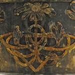 Celtic Themed Bedframe detail